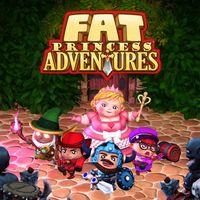 Portada oficial de Fat Princess Adventures para PS4