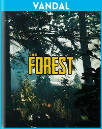 Portada oficial de The Forest para PS4