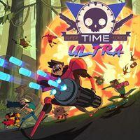 Portada oficial de Super Time Force Ultra para PS4