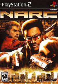 Portada oficial de NARC para PS2