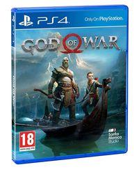 Portada oficial de God of War para PS4