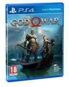 Portada oficial de de God of War para PS4