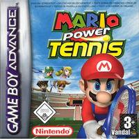 Portada oficial de Mario Power Tennis para Game Boy Advance
