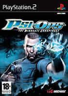 Portada oficial de de Psi-Ops para PS2