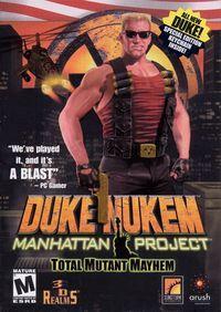 Portada oficial de Duke Nukem: Manhattan Project para PC
