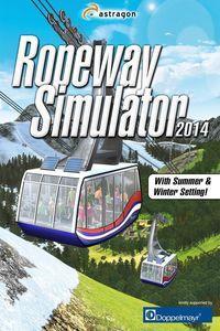 Portada oficial de Ropeway Simulator 2014 para PC