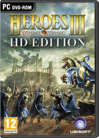 Portada oficial de Heroes of Might & Magic III – HD Edition para PC