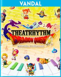 Portada oficial de Theatrhythm Dragon Quest para Nintendo 3DS