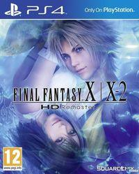 Portada oficial de Final Fantasy X/X-2 HD Remaster para PS4
