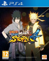 Portada oficial de Naruto Shippuden: Ultimate Ninja Storm 4 para PS4