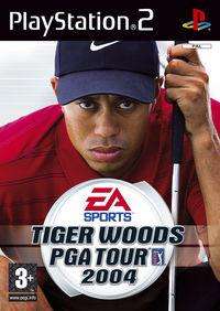 Portada oficial de Tiger Woods PGA TOUR 2004 para PS2