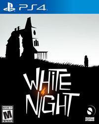 Portada oficial de White Night para PS4