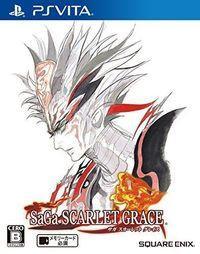 Portada oficial de SaGa Scarlet Grace para PSVITA