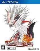 Portada oficial de de SaGa Scarlet Grace para PSVITA