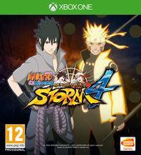 Portada oficial de Naruto Shippuden: Ultimate Ninja Storm 4 para Xbox One