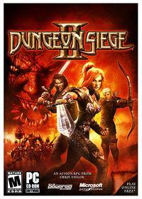 Portada oficial de Dungeon Siege 2 para PC