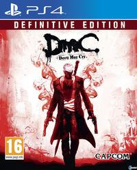 Portada oficial de DmC: Definitive Edition para PS4