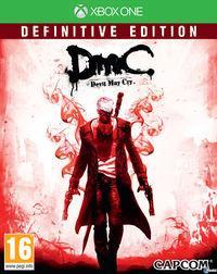 Portada oficial de DmC: Definitive Edition para Xbox One