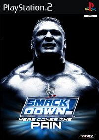 Portada oficial de WWE SmackDown! Here Comes the Pain para PS2