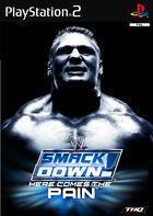 Portada oficial de de WWE SmackDown! Here Comes the Pain para PS2