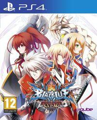 Portada oficial de BlazBlue: Chrono Phantasma Extend para PS4