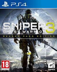 Portada oficial de Sniper: Ghost Warrior 3 para PS4