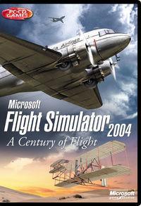 Portada oficial de Flight Simulator 2004: Cien Años de Aviación para PC