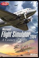 Portada oficial de de Flight Simulator 2004: Cien Años de Aviación para PC