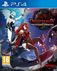 Portada oficial de Deception IV: The Nightmare Princess para PS4