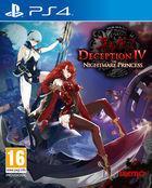 Portada oficial de de Deception IV: The Nightmare Princess para PS4