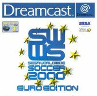 Portada oficial de Sega World Wide Soccer 2000 para Dreamcast