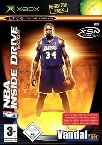 Portada oficial de NBA Inside Drive 2004 para Xbox