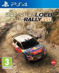 Portada oficial de Sébastien Loeb Rally Evo para PS4