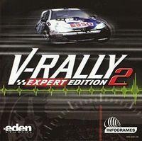 Portada oficial de V-Rally 2 para Dreamcast
