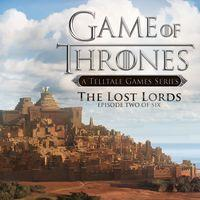 Portada oficial de Game of Thrones: A Telltale Games Series - Episode 2: The Lost Lords para PS4