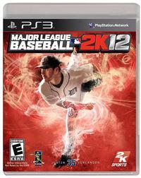 Portada oficial de Major League Baseball 2K12 para PS3
