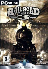 Portada oficial de Rail Road Tycoon 3 para PC