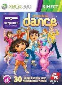 Portada oficial de Nickelodeon Dance para Xbox 360