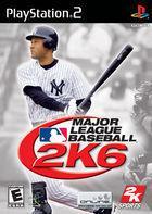 Portada oficial de de Major League Baseball 2K6 para PS2