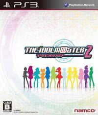 Portada oficial de The Idolmaster 2 para PS3
