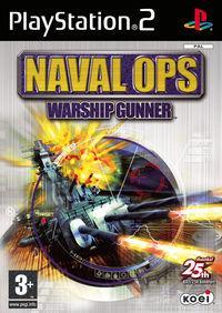 Portada oficial de Naval Ops: Warship Gunner para PS2