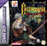 Portada oficial de Castlevania: Circle of the Moon para Game Boy Advance
