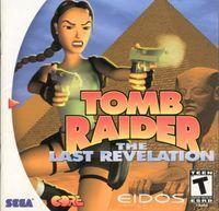 Portada oficial de Tomb Raider: The Last Revelation para Dreamcast