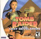 Portada oficial de de Tomb Raider: The Last Revelation para Dreamcast