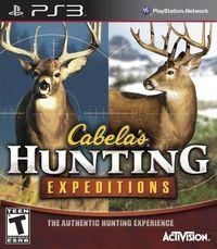 Portada oficial de Cabela's Hunting Expeditions para PS3