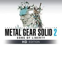 Portada oficial de Metal Gear Solid 2: Sons of Liberty - HD Edition PSN para PS3