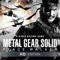 Portada oficial de Metal Gear Solid: Peace Walker - HD Edition PSN para PS3