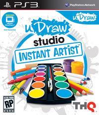 Portada oficial de uDraw Studio: Artista Al Instante para PS3