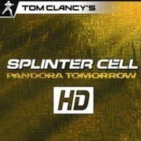 Portada oficial de Tom Clancy's Splinter Cell Pandora Tomorrow HD PSN para PS3