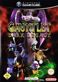 Portada oficial de Gauntlet Dark Legacy para GameCube